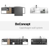 BoConcept Copenhagen wall system   set 8