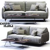 Ditre Italia ELLIOT 2-er Maxi Sofa