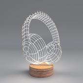"""Headphones"" lamp by Cheha"