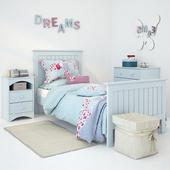 Кровать Barney Blue