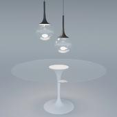 Стол Tavolo + Подвесной шар