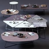 Ditre Italia Coffee Tables Set 02