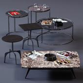 Ditre Italia Coffee Tables Set 03