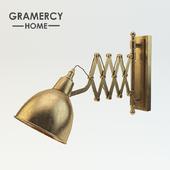 Gramercy home - Industrial scissor sconce