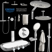 GROHE shower set and accessories