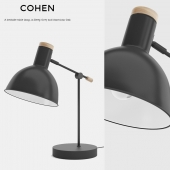 Cohen Bedside Table Lamp
