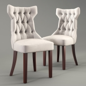 Clairborne tufted dinning chair