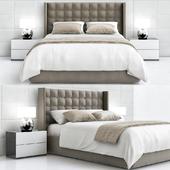 Mitchell brown bedroom