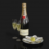Moet & Chandon + oyster