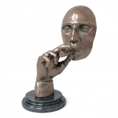 Statuette of a smoking head