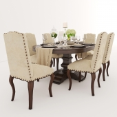 dining group from Pottery Barn