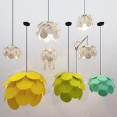 Фанерные светильники Umbra