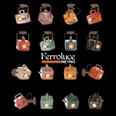 Ceiling / wall lamp square ferroluce INDUSTRIAL