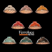 Светильник потолочный ferroluce INDUSTRIAL