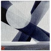 Ковер на основе картины Laszlo Moholy Nagy - A-17