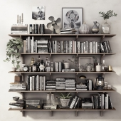 DECOR SET / SHELVES