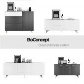 BoConcept Chest of drawers system | set 1