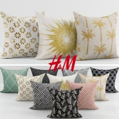 Collection of decorative pillows H&M - 2