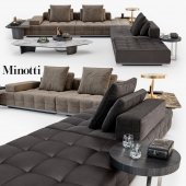 Minotti Lawrence Clan seating system set_01