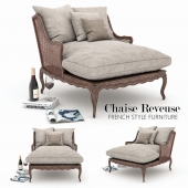 Chaise Reveuse FRENCH STYLE FURNITURE