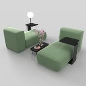 Modern modular sofa set