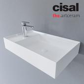 Sink Artceram Scalino and Cisal LineaViva