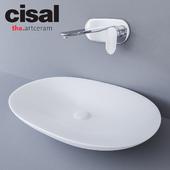 Sink Artceram La Fontana and Cisal LineaViva