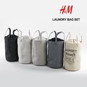 Корзина-сумка для белья H&M