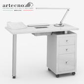 Manicure table Square Vented 305 LX Artecno