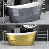 Acrylic bathtub Lagard Alya