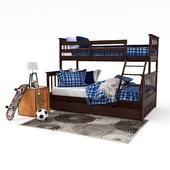 Двухъярусная кровать Лола