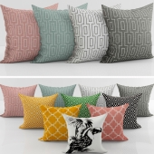 Collection of decorative pillows H&M - 3