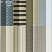 Wall-papers Nantucket Stripes
