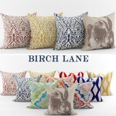 Collection of decorative pillows Birch Line