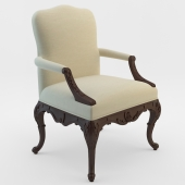 Ralph Lauren Home Crested Arm Chair