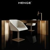Henge - Hexagon; Time; Flat