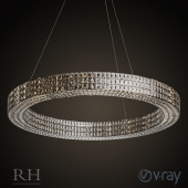 SPIRIDON RING CHANDELIER 59""