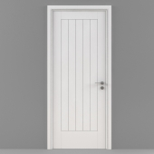 Jeld-Wen Internal White Moulded Newark Woodgrain