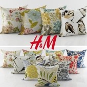 Collection of decorative pillows H&M - 5