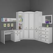 Furniture for children Salerno Gerbor. Part 2