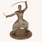 Statuette of the Cossacks