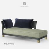 Promemoria - Moltrasio Chaise longue