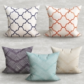 DL Rhein and Jaipur pillows
