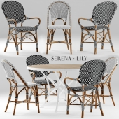 Стол и стулья serena and lily