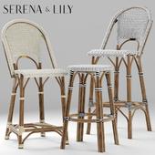 стулья serena and lily