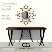Christopher Guy Console and Mirror