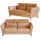 Bretagne 2 seater sofa by Poltrona Frau