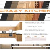 A set of modern kitchen facades - Crazy Kitchen V.2