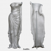 Art Deco Aluminum Sculpture