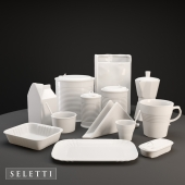 Set of dishes Seletti